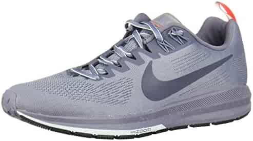 2627ff71bc94 Nike Women s Air Zoom Structure 21 Shield Running Shoe Dark Sky  Blue Thunder Blue-