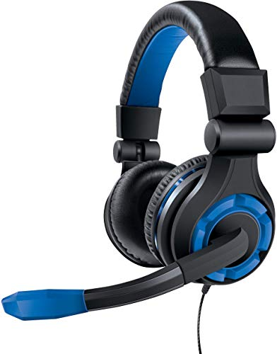 dreamGEAR: GRX-340 Advanced, Wired Stereo Gaming Headset for PS4  Includes Inline Dual Volume Control For Chat and Game Sounds. Also works with XBOX One, and other systems