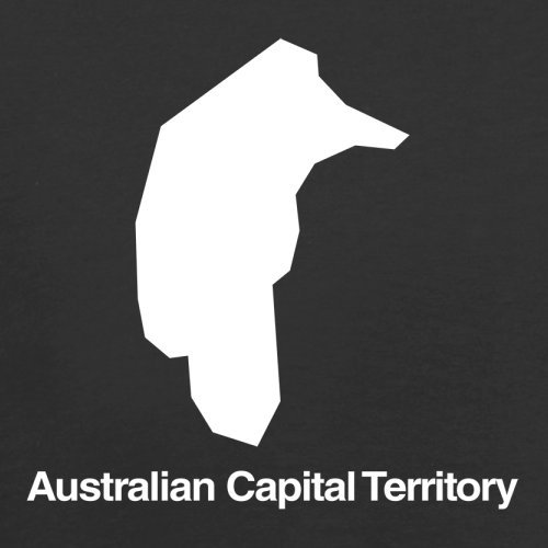 Black Silhouette Australian Capital Retro Flight Bag Territory Red pZ0qZg