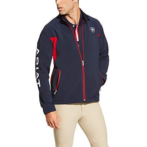 - ARIAT Men's New Team Softshell Jacket Navy Size Small