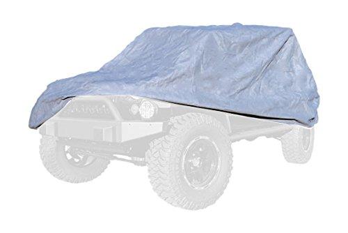 Full Car Cover Kit - Outland 391332173 Full Car Cover Kit for Jeep CJ8/ LJ/JK Wrangler Unlimited
