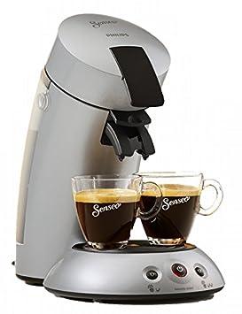 Senseo HD6556/59 Independiente Totalmente automática Máquina de café en cápsulas 0.7L 4tazas Plata