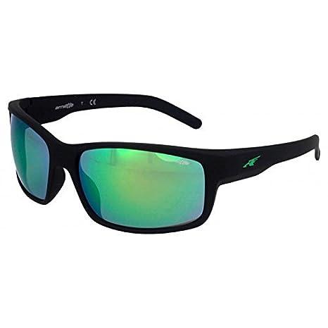 4a3f70948e Arnette 0AN4202 447/3R 62 gafas de sol, Negro (Fuzzy  Black/Lightgreenmirrorgreen), Unisex-Adulto: Amazon.es: Ropa y accesorios