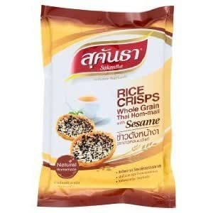 Amazon.com : Sukantha Rice Crisps Whole Grain Thai Jasmine
