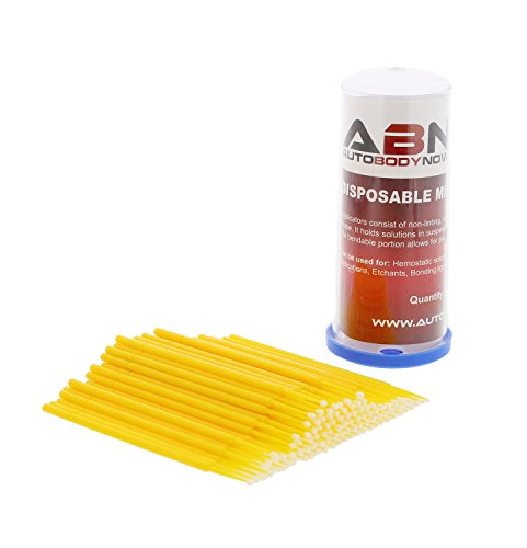 abn-fine-point-disposable-brush-applicator-100-pack-for-lint-free-detailing-touchups-and-more