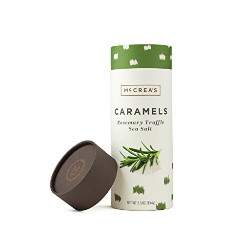 McCrea's Caramels Candies Rosemary Truffle Sea Salt Made in Boston made in New England