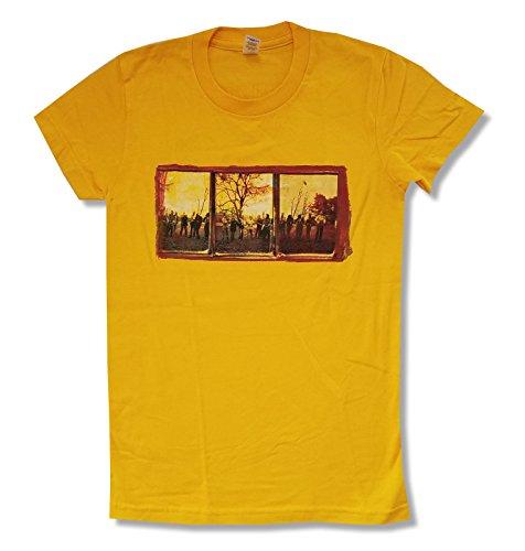 Bruce Springsteen Seeger Sessions World Tour Juniors Yellow T Shirt (XL)