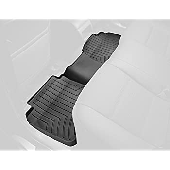 WeatherTech Custom Fit Rear FloorLiner for Ford F-150 (Black)