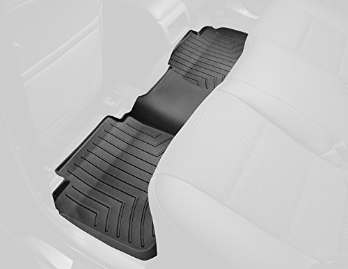 Rear Floor Liner (WeatherTech Custom Fit Rear FloorLiner for Ford F-150 (Black))