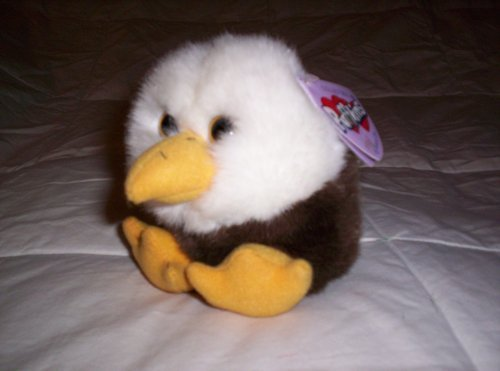 "Puffkins Eagle ""Baldwin"" Plush by Puffkins"