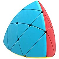 Kids Dukaan High Speed Triangle Puzzle Pyramid Style Cube (Sticker Less)