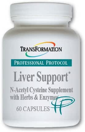 Transformation Enzymes - Liver Support, 60 Capsules - #1 Practitioner Recommended - Includes a Synergistic Formulation of Herbs and Nutrients to Protect The Liver and Support Detoxification,