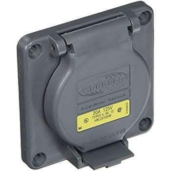 Hubbell Wiring Systems Hbl2730sw Twist Lock Watertight