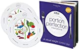 WHY THIS PLATE? Because it is much more than a plate with lines or sections, the Portion Perfection Plate holds a measured portion. Complete with instructions that teach you appropriate portions of how much to eat for weight loss & describes how ...