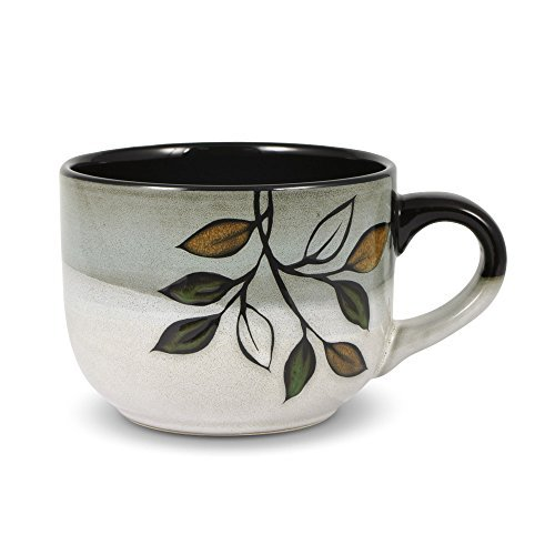 (Pfaltzgraff Rustic Leaves Jumbo Soup Mug, 26-Ounce)