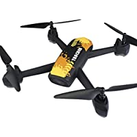 Hot Sales Memela(TM)JXD 518 Drone FPV GPS Mining Point Wifi Altitude Hold Auto Foldable 2.4G 4-Channel 6Axis HD 720P Camera Headless Mode Quadcopter (Yellow)