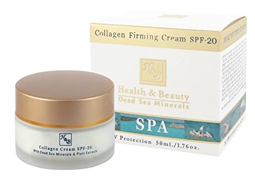 Health & Beauty Dead Sea Minerals - Collagen Firming Cream SPF-20 50ml