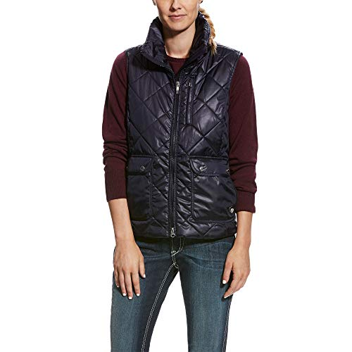 ARIAT Women's Portico Vest Overall Navy Size ()