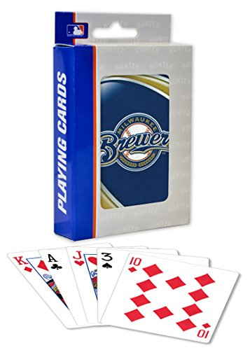 MasterPieces Mlb Milwaukee Brewers Playing Cards -