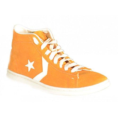 Converse Botines Pro Leather Lp Mid Suede Naranja