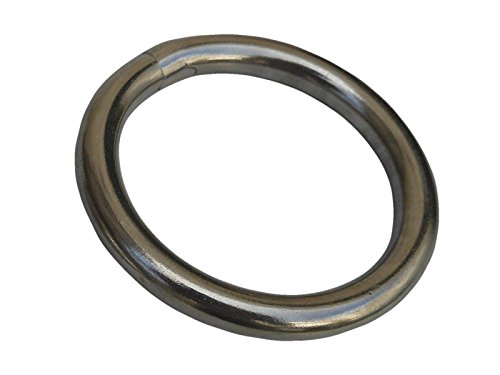 12mm x 150mm Stainless Steel Round Ring FREE Postage /& Packaging!