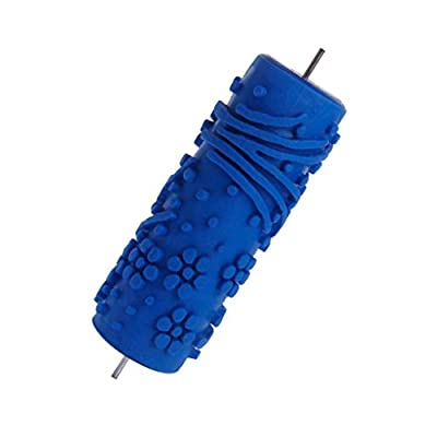 15cm Wallpaper Tool Flower Embossed Painting Roller for DIY Home Decoration