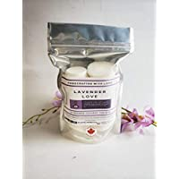 Lavender Love Aromatherapy Shower steamer gift pack, 10 tablets, Wildfire Aromatics