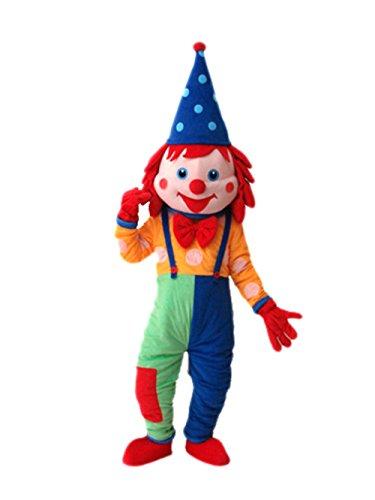 [MascotShows Clown Mascot Costume Halloween Party Dress] (Halloween Clowns)