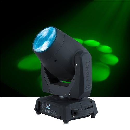 MARQ Gesture Beam 400   75W Intelligent LED Lighting with Moveable Head & Frost Focus