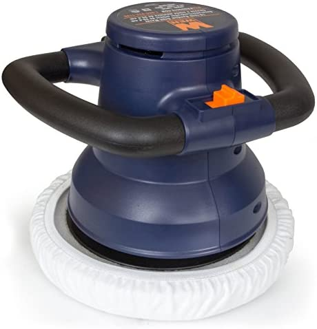 WEN 10PMC 10-Inch Waxer Polisher in Case with Extra Bonnets