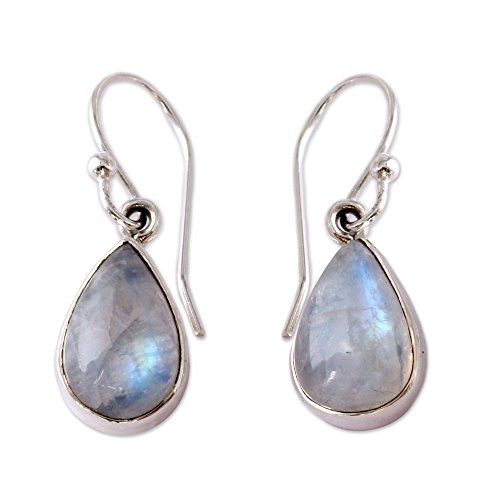 novica-rainbow-moonstone-and-925-sterling-silver-dangle-teardrop-earrings-luminous-light