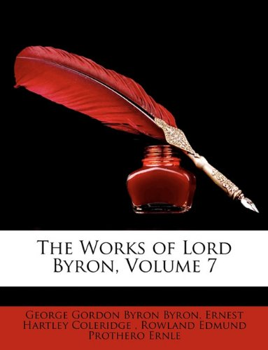 Download The Works of Lord Byron, Volume 7 pdf
