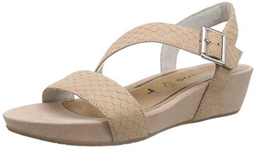 Tamaris 28303 - Sandalias de punta descubierta para mujer Rosa - Pink (ROSE 521)