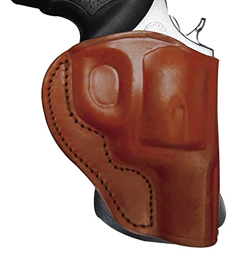 Tagua PD3-147 Paddle Holster Open Top, S&W Governor 275'', Brown, Right Hand by Tagua