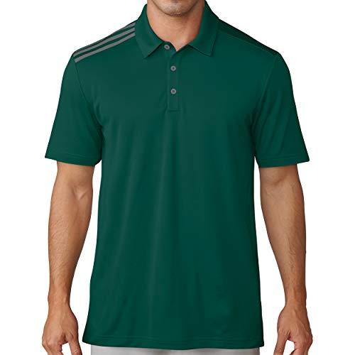 adidas Men's 3-Stripes Polo - DW3655 (Noble Green - M)
