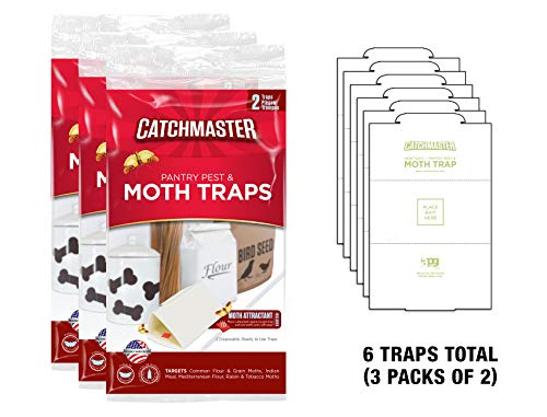 Catchmaster 812sd Pantry Moth Traps (6 Pack) (Outdoor Target Storage)