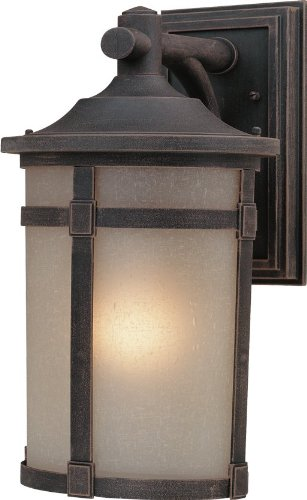Artcraft Lighting St. Moritz Small Outdoor Wall Mount, Rich Bronze