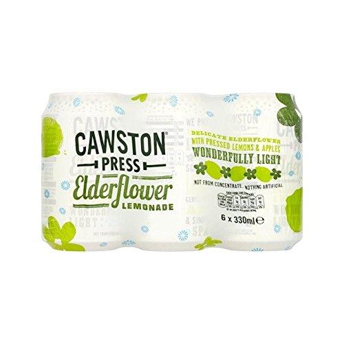 Cawston Press Sparkling Elderflower Lemonade 6 x 330ml (Pack of 6) by Cawston Press