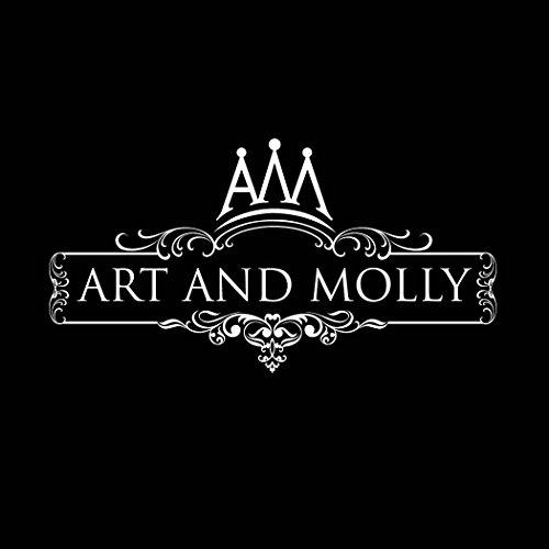 Art et Molly femmes boucles d'oreilles clous Femme-Argent 925/1000oxyde de zirconium Lucky fer à cheval