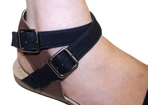 Dona Michi Dames Zomer Gladiator Sandalen Flats Fashionthongs T-bandjes Dames Schoenen-1853 Zwart
