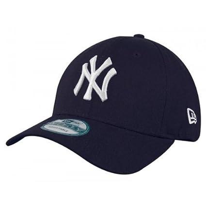 New Era Mlb Basic Ny Yankees 9Forty Adjustable Navy - Casquette de Baseball - Homme