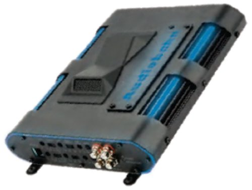 Audiobahn Car - Audiobahn AMA24004H 300W RMS 4-Channel Class A/B Murdered Out Series Car Amplifier