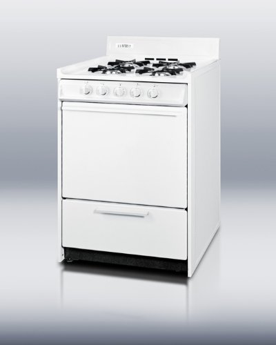 Summit WNM110P Kitchen Cooking Range, White