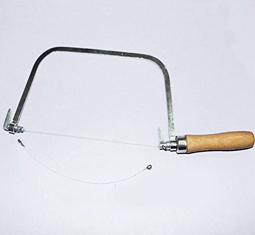 X-Haibei Soap Loaf Turkey Wire String Cutter Saw for Soap Candle Wax Slice Making Pro.