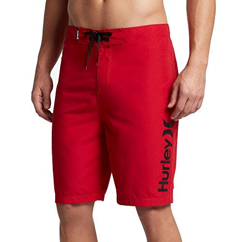Hurley Men's One & Only 2.0 Boardshorts 21'' Gym Red 36 by Hurley