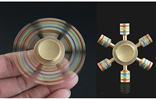 Spin Wars 6 Sided Metallic Fidget Spinner