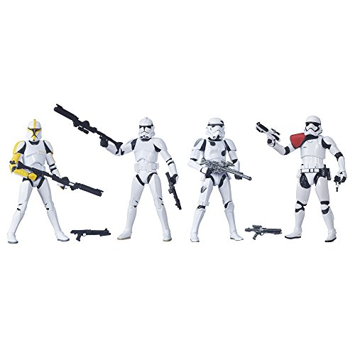 Star Wars The Black Series 6-Inch Stormtrooper 4-Pack [Amazon Exclusive]