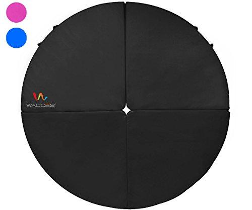 Wacces Dance Pole Foldable Crash Mat, Black