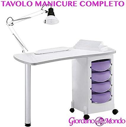 Mesa de manicura Profesional Completo de accesorios: lámpara de ...