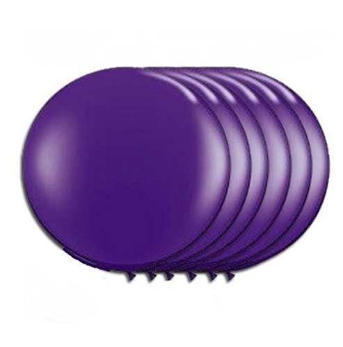 36 Inch Latex Balloon Purple (Premium Helium Quality) Pkg/6 -